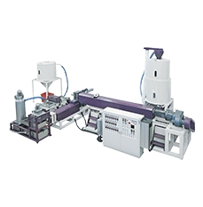 Two Station Model Plastic Film/Bottle Recycle Pelletizing Line